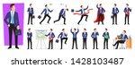 set of character businessman in ...   Shutterstock .eps vector #1428103487