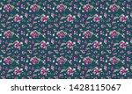 seamless floral pattern photo... | Shutterstock . vector #1428115067