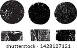 grunge post stamps collection ... | Shutterstock .eps vector #1428127121