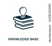 knowledge base vector icon...   Shutterstock .eps vector #1428152354