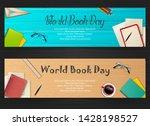 world book day banners template | Shutterstock .eps vector #1428198527