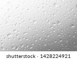 water drops on gray background | Shutterstock . vector #1428224921