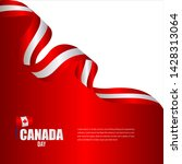 canada independence day... | Shutterstock .eps vector #1428313064