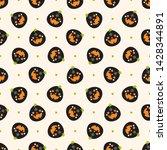 seamless vector pattern on... | Shutterstock .eps vector #1428344891