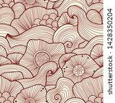 vector abstract illustration...   Shutterstock .eps vector #1428350204
