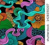 vector abstract illustration...   Shutterstock .eps vector #1428350207