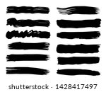 vector collection of artistic... | Shutterstock .eps vector #1428417497