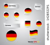germany icon set of flags  ...