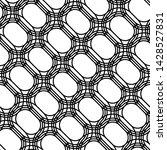 design seamless monochrome grid ... | Shutterstock .eps vector #1428527831
