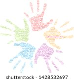 cultural misappropriation word... | Shutterstock .eps vector #1428532697