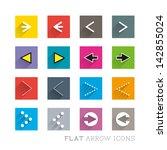 flat icon designs   arrows....