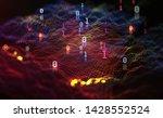 big data. processing an array...   Shutterstock . vector #1428552524