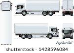 vector cargo truck generation... | Shutterstock .eps vector #1428596084
