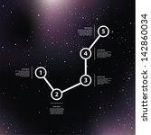 vector space background. purple ... | Shutterstock .eps vector #142860034