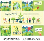 vector illustration eco... | Shutterstock .eps vector #1428610721