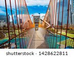 Playground Bridge In Chicago...