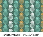 tropical pattern. exotic fruits ...   Shutterstock .eps vector #1428641384