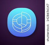 three dimensional diagram app... | Shutterstock .eps vector #1428656147