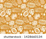 exotic pattern. tropical...   Shutterstock .eps vector #1428660134