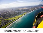 aerial view of milnerton golf... | Shutterstock . vector #142868809