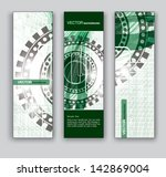 banners. vector backgrounds. | Shutterstock .eps vector #142869004