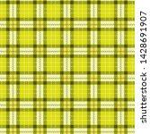 bright lime green  tartan twill ... | Shutterstock .eps vector #1428691907