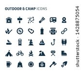 simple bold vector icons... | Shutterstock .eps vector #1428875054