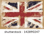 british flag | Shutterstock .eps vector #142890247
