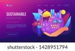 smart eco farm  remote control... | Shutterstock .eps vector #1428951794