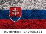 flag of slovakia. page symbol...