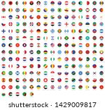 all national flags of the world ... | Shutterstock .eps vector #1429009817