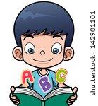 vector illustration of cartoon... | Shutterstock .eps vector #142901101