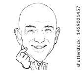 june 20  2019 caricature of... | Shutterstock . vector #1429021457