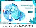vector illustration   online... | Shutterstock .eps vector #1429092221