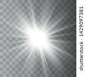 Glowing Lights Effect. Star...