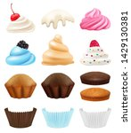 Cakes Collection. Realistic...