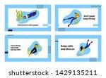 snorkeling characters... | Shutterstock .eps vector #1429135211