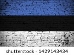 effects of estonia flag  flag... | Shutterstock . vector #1429143434