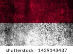 effects of indonesia flag  flag ... | Shutterstock . vector #1429143437