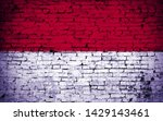 effects of indonesia flag  flag ... | Shutterstock . vector #1429143461