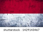effects of indonesia flag  flag ... | Shutterstock . vector #1429143467