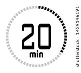 the 20 minutes countdown timer...