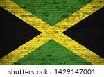 effects of jamaica flag  flag... | Shutterstock . vector #1429147001