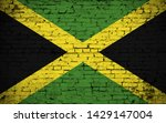 effects of jamaica flag  flag... | Shutterstock . vector #1429147004