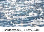 Sparkles On A Sea Abstract...