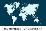 color world map vector modern | Shutterstock .eps vector #1429245647