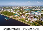 scenic view from drone of... | Shutterstock . vector #1429254641