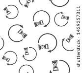 sandglass clock icon. flat... | Shutterstock .eps vector #1429257311