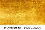 Gold Metal Brushed Background...