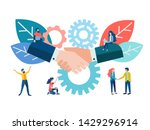 vector illustration concept the ... | Shutterstock .eps vector #1429296914
